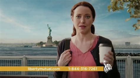 redhead in liberty mutual insurance ad rebecca spence tv commercials ispot tv