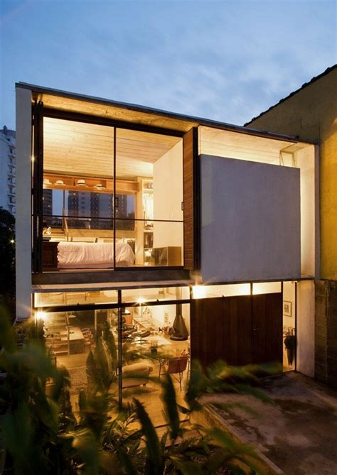 Decorating Small Bedrooms ingenious small residence in brazil by apiac 225 s arquitetos