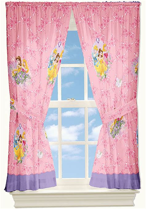disney princess curtains and bedding disney princesses curtain set rose garden 4pc window drapes