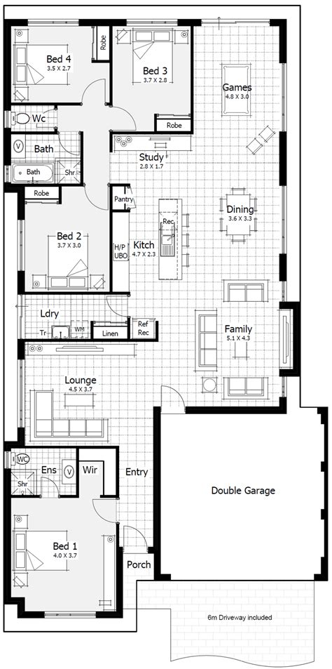 metre wide home designs home buyers centre hp perth wa   house design