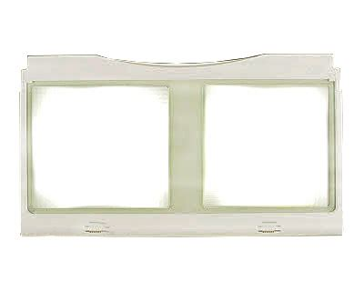 samsung refrigerator crisper drawer parts samsung rf266abwp xaa shelf crisper drawer cover genuine oem