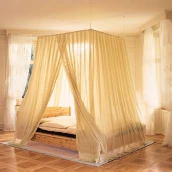 canopy bed drapery screening materials bed canopies for protection from