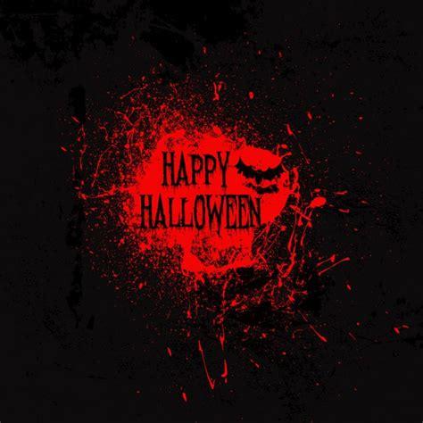 imagenes en negro de halloween fondo negro con una mancha de sangre para halloween