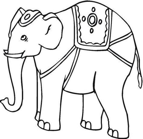 india elephant coloring page elephant coloring pages sheets pictures