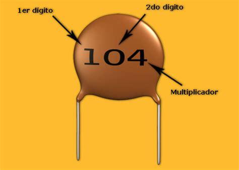 capacitor 104 para que sirve construya su videorockola gt curso de electrnica bsica condensadores