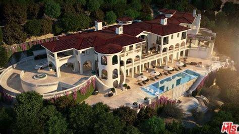 bel air mansion 75 million newly built 40 000 square foot mega mansion in
