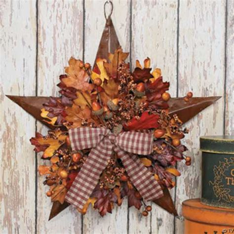 handmade door wreaths offering great craft ideas and cheap - Craft Ideas For Fall Decorating