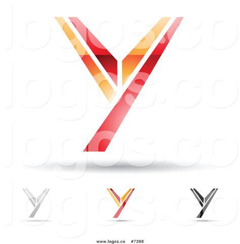 Y Logo royalty free clip vector logos of abstract letter y