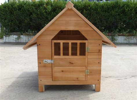 dog house windows the pet dog kennel house outdoor pens made by chinese fir have doors and windows in