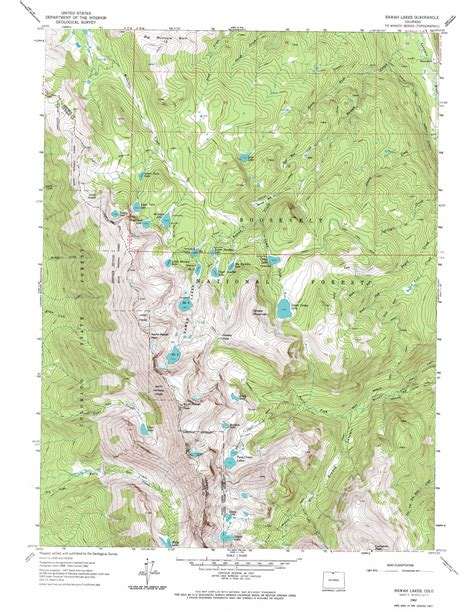 lake colorado map rawah lakes topographic map co usgs topo 40105f8