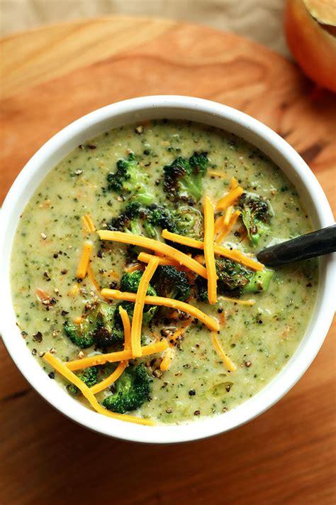 creamy vegan broccoli soup vegan cream  broccoli soup