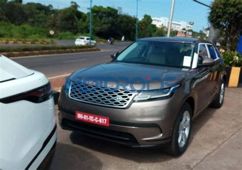 Price Launches New Range by New Range Rover Velar Spotted In India Images Details