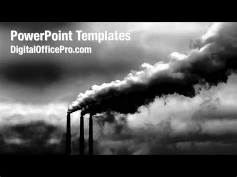 Air Pollution Powerpoint Template Backgrounds Air Pollution Ppt Templates Free