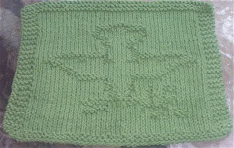 dove knitting pattern digknitty designs dove of peace knit dischcloth pattern