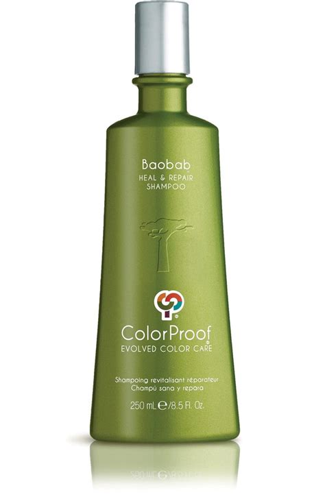 color proof products baobab heal repair tm shoo color proof our hair