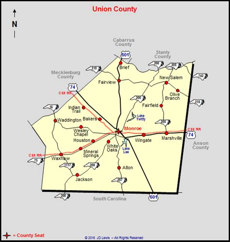 zip code map union county nc union county town map pictures to pin on pinterest pinsdaddy