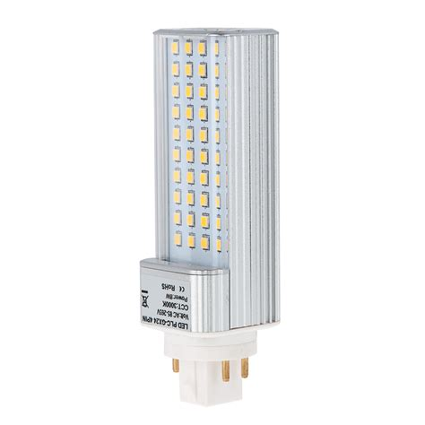 Plc L Gx24q 4 Pin Led Bulb 8 Watts 18w Equivalent 4 Pin Led Light Bulb