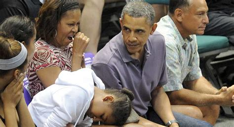 biography of barack obama s daughters obama the white house has made family life more normal