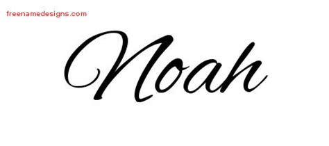 tattoo ideas name noah cursive name tattoo designs noah free graphic free name