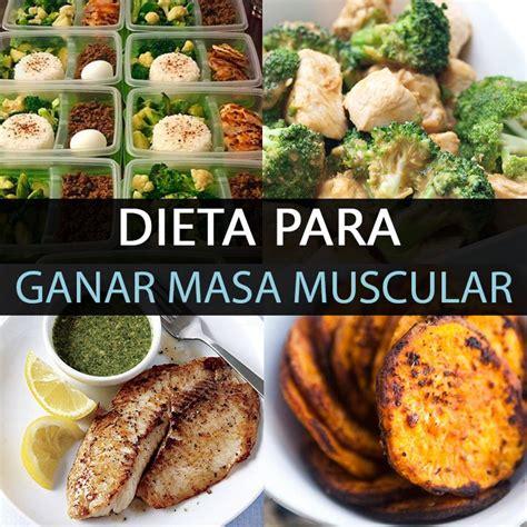 dieta  ganar  muscular   trucos  funcionan