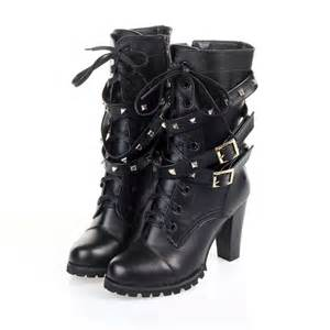 Boots spike chain cowboy boots for women fashion women s autumn boots
