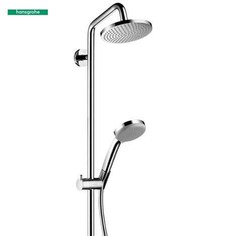 kit de hansgrohe hansgrohe croma 160 showerpipe set 27135000 uk bathrooms