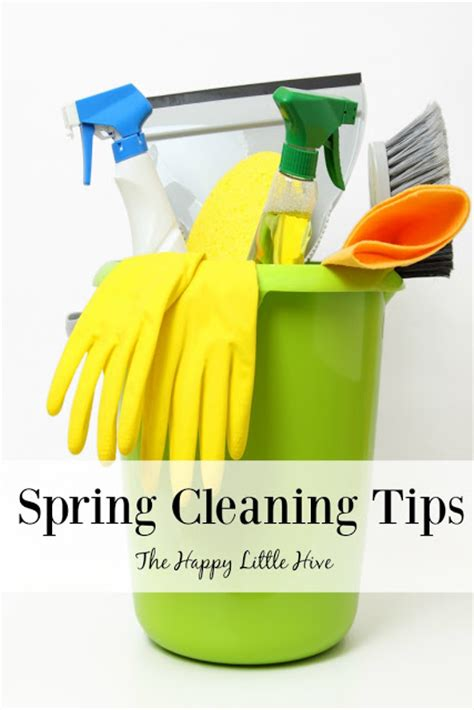 spring cleaning tips the happy little hive spring cleaning tips