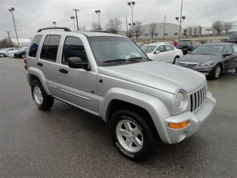 2002 Jeep Liberty Specs 2002 Jeep Liberty Limited 4x4 Data Info And Specs