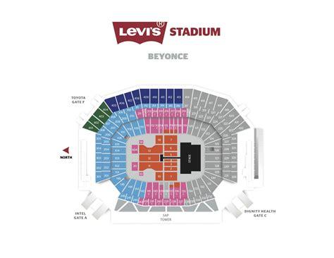 levi stadium seating chart beyonce beyonc 233 announces second show at levi s 174 stadium on