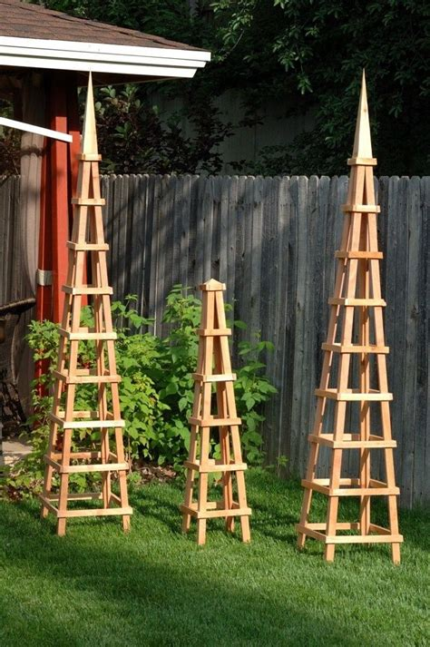 french tuteur trellis woodworking projects plans 206 best images about wooden garden obelisks on pinterest