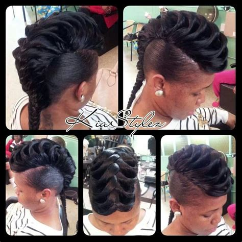 fishtail braid hairstyles for black women fish tail quick weave i think i might try this style