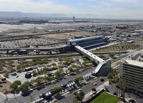 light rail to sky harbor sky to airport ushers in era for valley