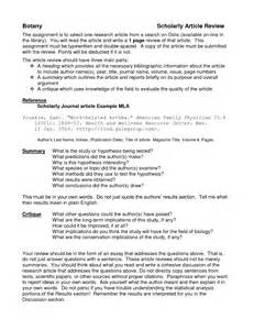 article review template best photos of article critique templates research