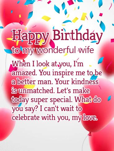 birthday cards for wife birthday amp greeting cards by