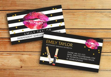The 25 Best Lipsense Business Cards Ideas On Pinterest Lip Sense Lip Sense Distributor And Senegence Business Card Template