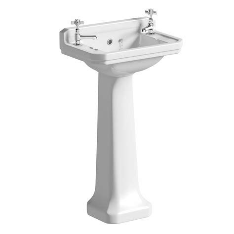 Cloakroom Basin With Pedestal camberley 2th cloakroom basin pedestal victoriaplum