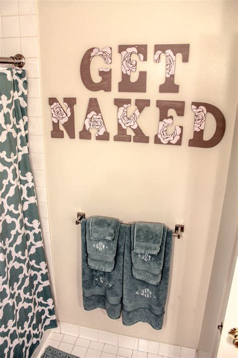 bathroom wall letters bathroom wall letters get naked by simplysamanthastore on