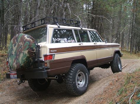 jeep wagoneer lifted broncoduece 1979 jeep wagoneer specs photos modification