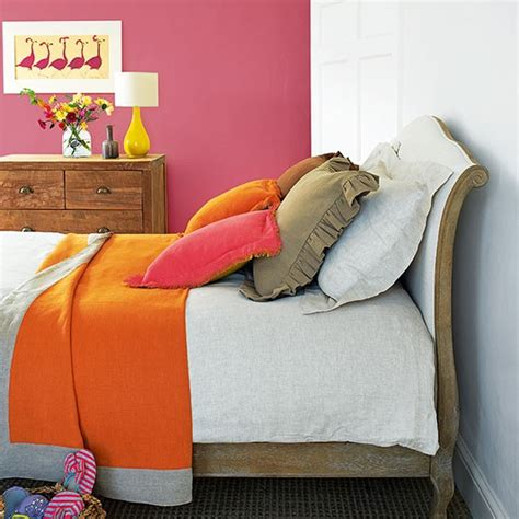 pink and orange bedroom pink bedroom with orange bedspread decorating