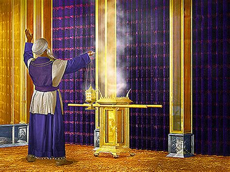 the curtain place scripturesight why did they light incense in the temple