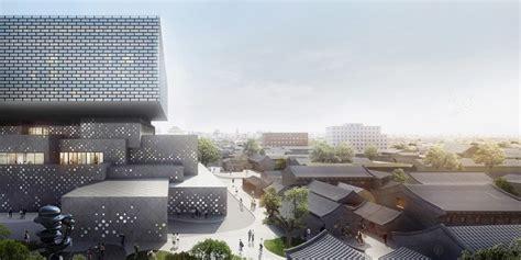buro ole scheeren beijing ole scheeren unveils plans for the guardian center in