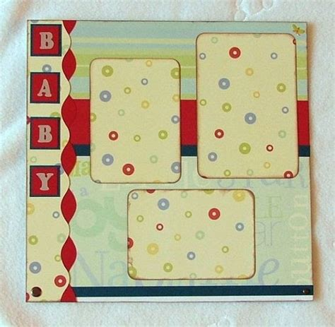 Frugal Scrapbooking 2 9 by Scrapbook Photos Papercrafting Scrapbook Layout Hello