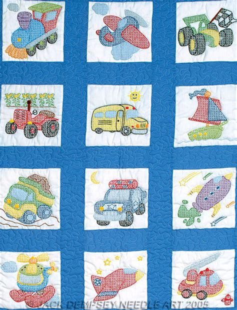 Cross Stitch Baby Quilt Patterns by Baby Quilts Cross Stitch Patterns Kits 123stitch