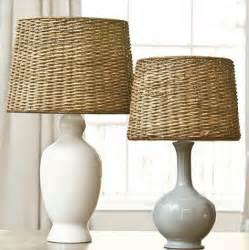 Ballard Designs Clocks dareau woven rattan lamp shade farmhouse lamp shades