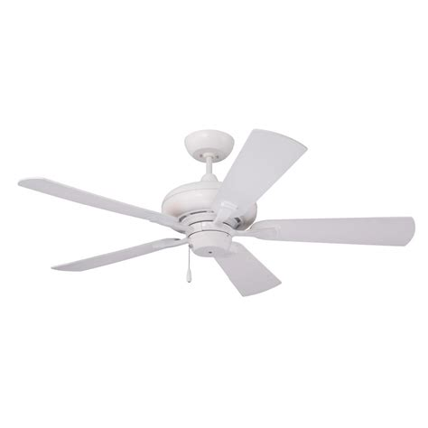 home depot emerson ceiling fans emerson monterey ii 52 in led satin white ceiling fan