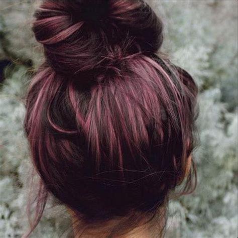 %name Burgundy Plum Hair Color   50 Vivid Burgundy Hair Color Ideas for this Fall   Hair Motive Hair Motive