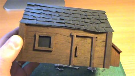 how to make a wooden model house youtube building balsa wood houses youtube