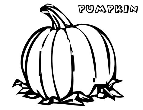 large pumpkin coloring page coloring pages