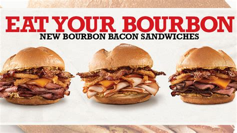 Arby?s launches new Bourbon and Bacon sandwiches   Chew Boom