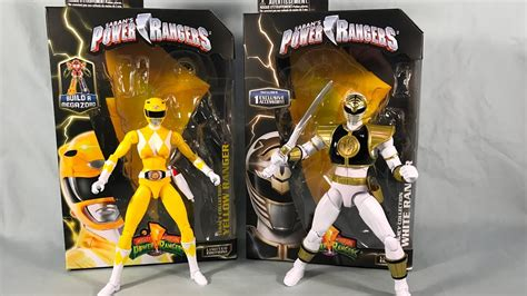 Limited Edition Kaos Mighty Morphin Power Rangers Yellow Laris power rangers legacy collection wave 3 mighty morphin yellow and white rangers review